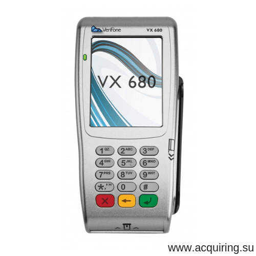 Мобильный POS-терминал Verifone VX680 (Wi-Fi, Bluetooth) под Прими Карту в Тюмени